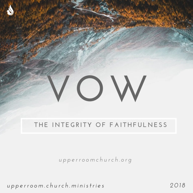VOW the integrity of Faithfulness Message cover