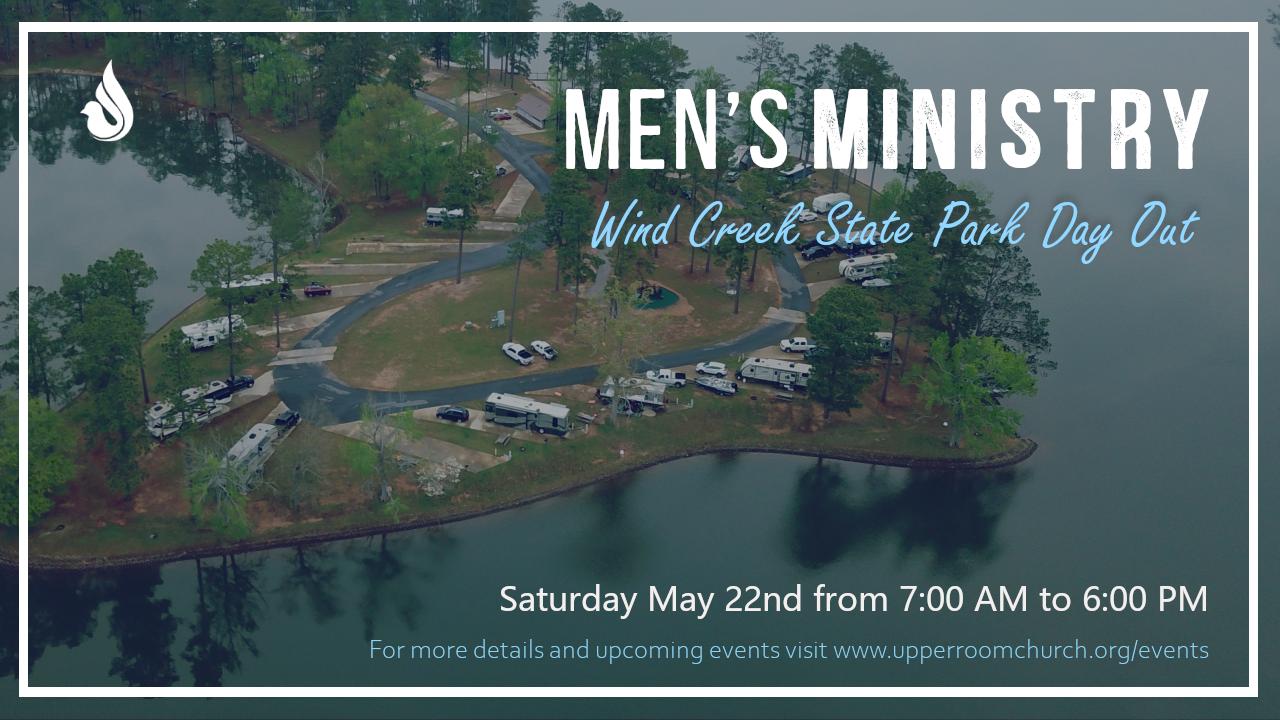 Men's Ministry Wind Creek flyer