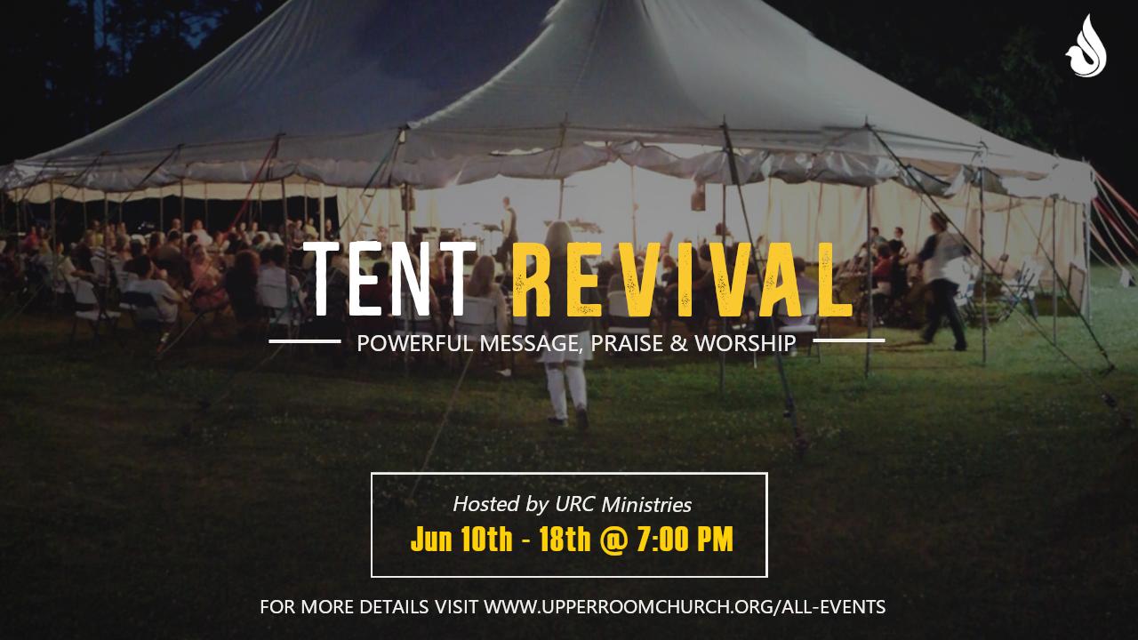 Tent Revival Flyer